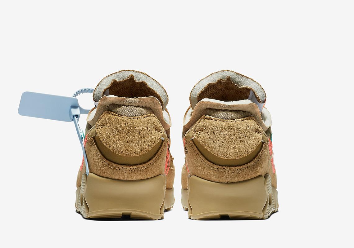 131d30869e7a Off-White Nike Air Max 90 Desert Ore AA7293-200