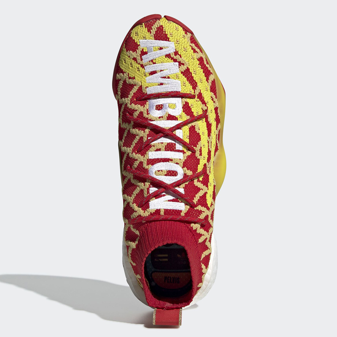"""78a7ff59da596 Pharrell x adidas Crazy BYW """"Chinese New Year"""" Release Date  January 26th"""