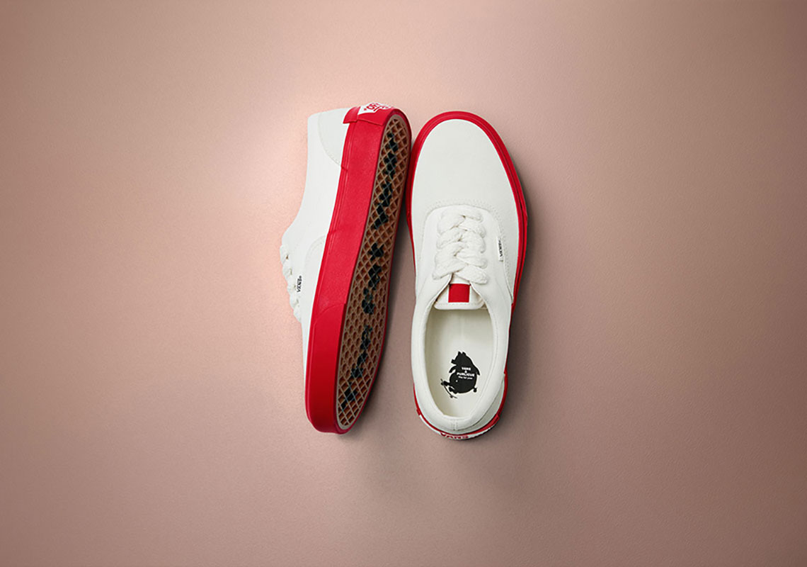 """Purlicue x Vans Vault Era """"Year Of The Pig"""" €79.90. Color  Marshmallow Racing  Red Style Code  VN0A38FRSHI1 7909bf36b"""
