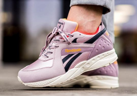 The Reebok Pyro Arrives In A Retro Lilac Colorway