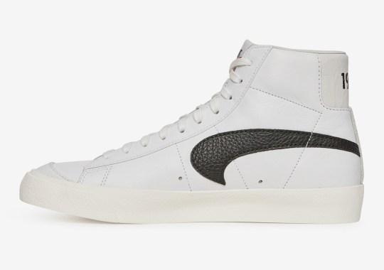 Slam Jam Flips The Swoosh On Their Upcoming Nike Blazer For Fashion Week