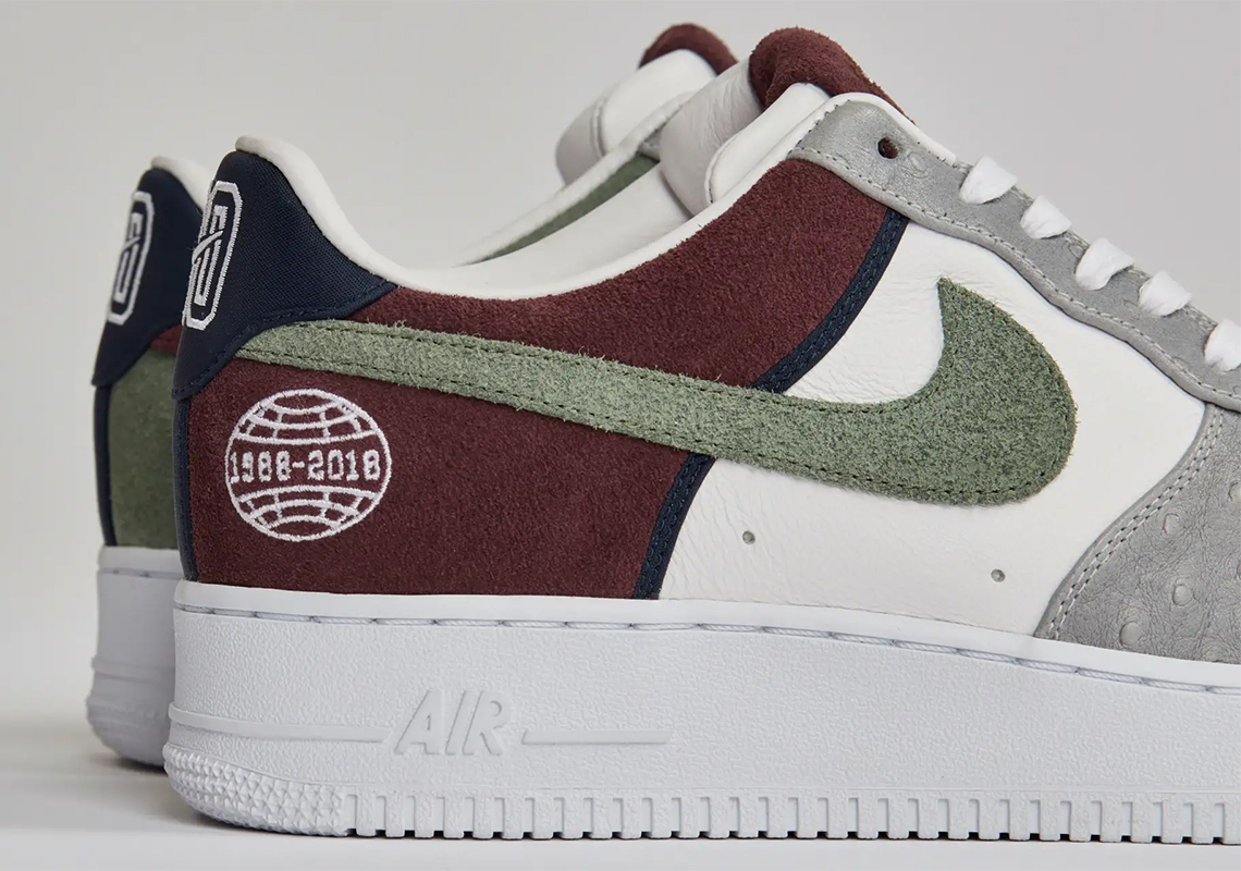 f2bb68fecaba Sneakersnstuff Honors A Longtime Nike Employee With 1-of-1 Air Force 1s