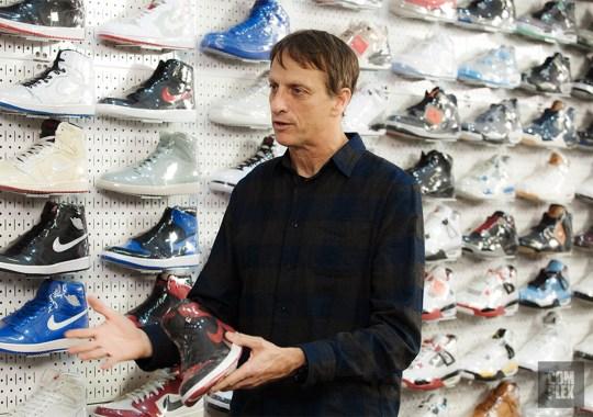 Skate Legend Tony Hawk Discusses Air Jordan 1s, Supreme, And More In Sneaker Shopping