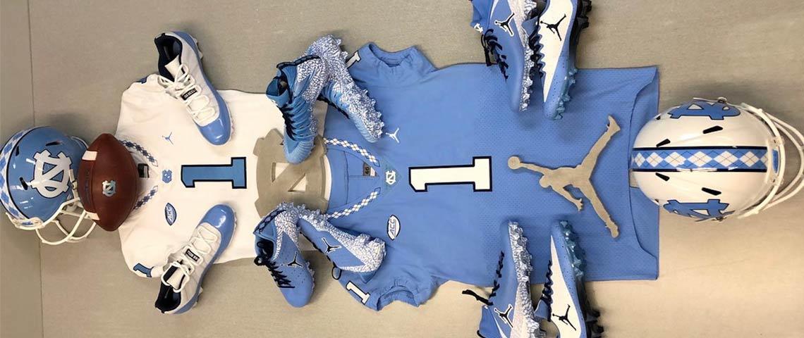 UNC Tar Heels Football Jordan PEs | SneakerNews.com North Carolina Football Shoes