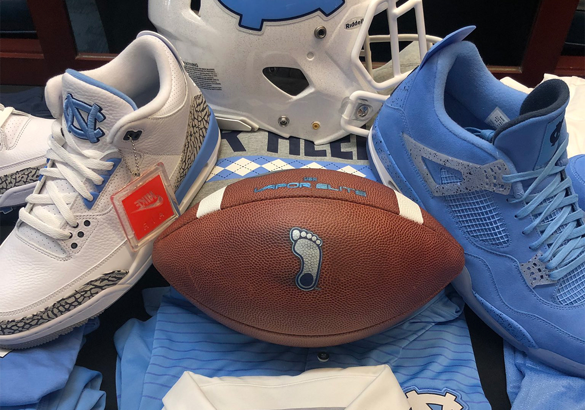 the best attitude 1a642 dbcd6 The UNC Tar Heels Have A Plethora Of New Air Jordan PEs For The New Year