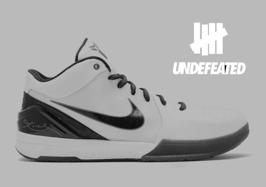 6528abcdd749a7 UNDEFEATED X Nike Kobe 4 Protro Releasing This Summer