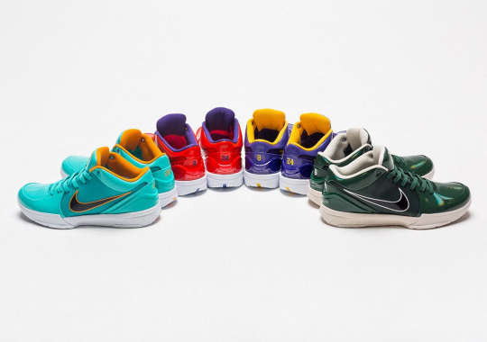 UNDEFEATED X Nike Kobe 4 Protro Releasing This Summer