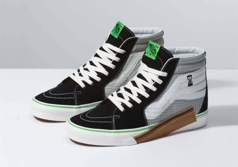 57fc14623e Vans Continues To Recraft Their Icons With The ASCII Inspired Sk8 Hi