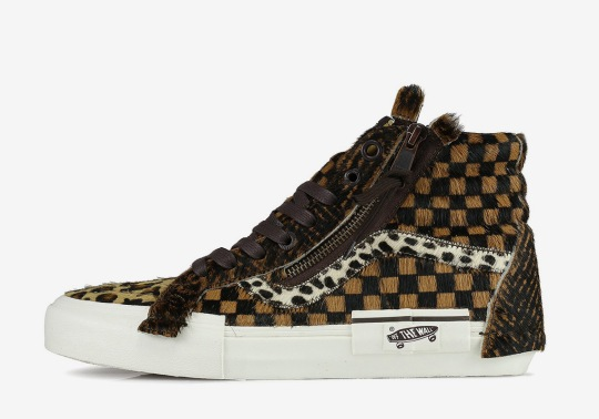 """Vans Goes Full """"Animal Pack"""" With The Sk8-Hi Re-Issue"""