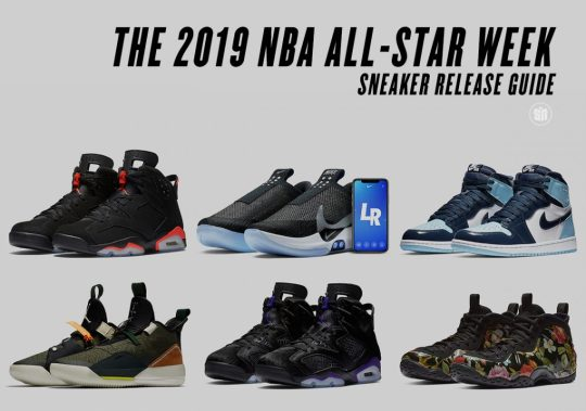 Sneaker Release Guide For 2019 NBA All-Star Week