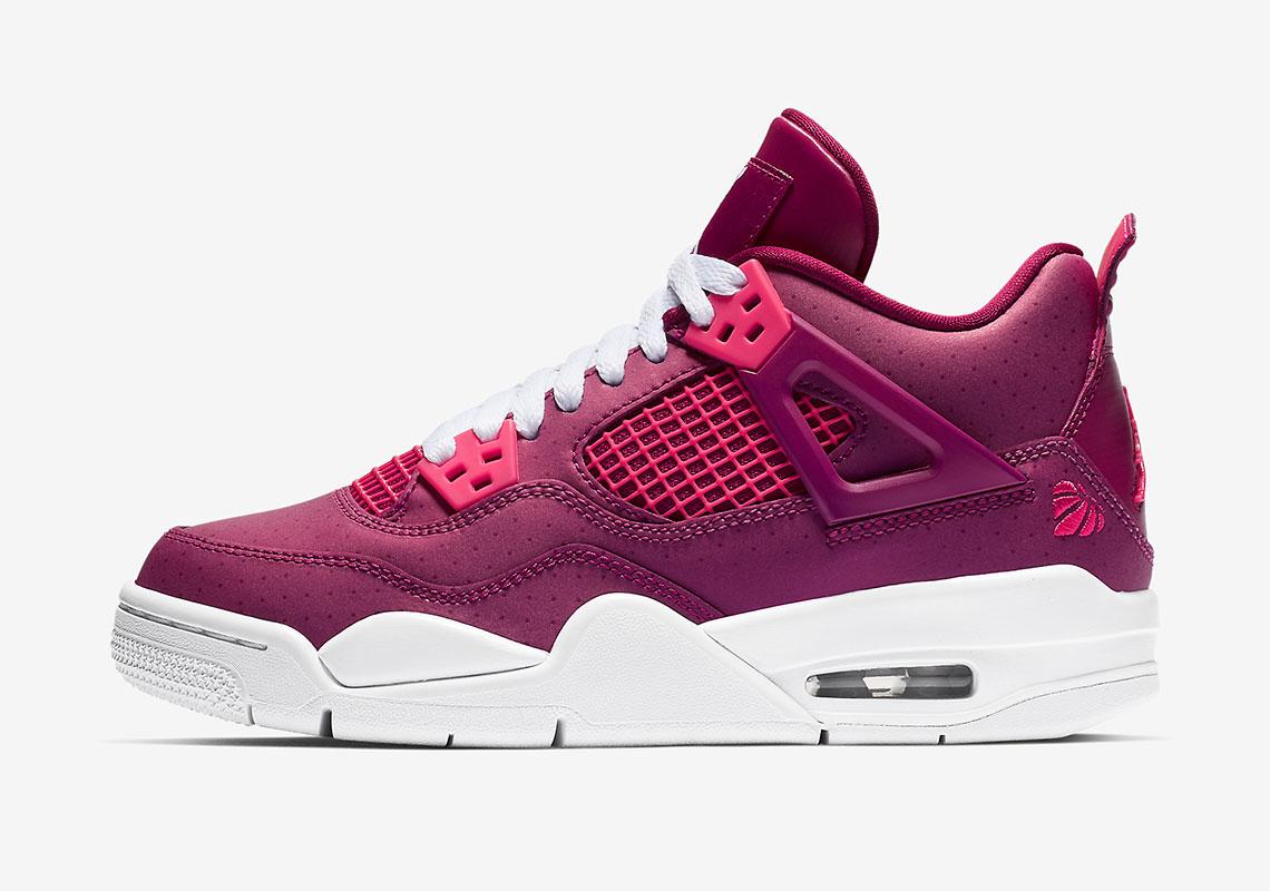 Jordan 4 Berry Pink 487724 661 Release