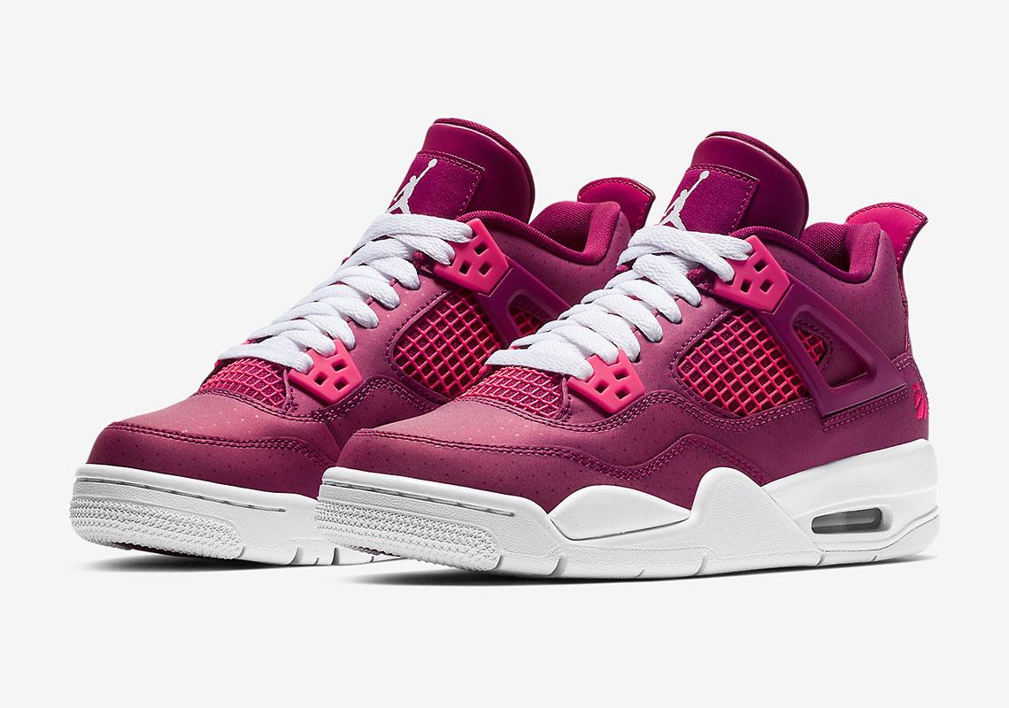1b57834839a7 Jordan 4 Berry Pink 487724 661 Release   Store List