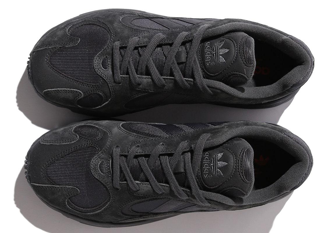 """BEAMS x Adidas Yung-1 """"Triple Black"""" Details"""