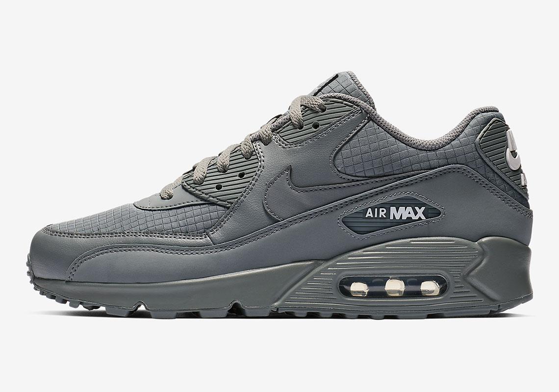lowest price 8b9c3 207e9 Nike AIr Max 90 Triple Grey AJ1285-017 Release Info ...