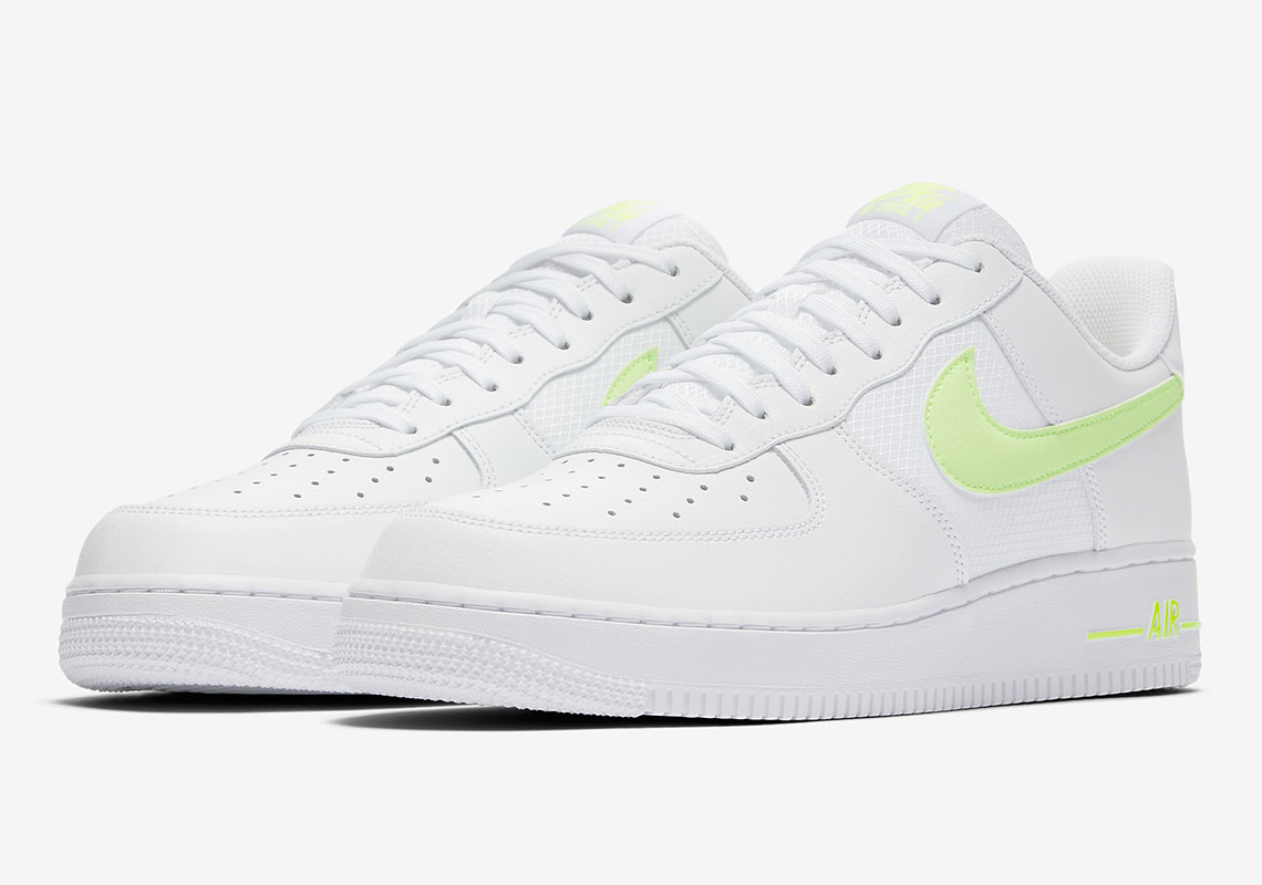 Nike Air Force One Adds Mesh To Three New Colorways 7bed1fcc04