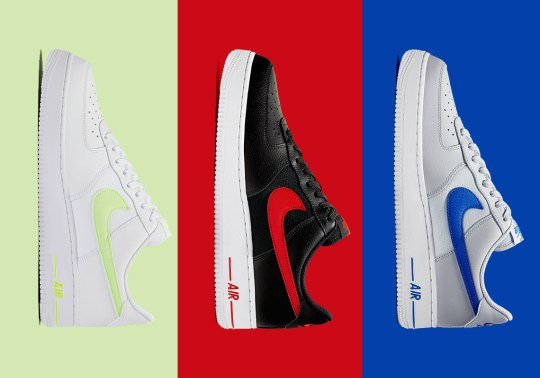 The Nike Air Force 1 Low Adds Clean Leather And Mesh To Three Colorways