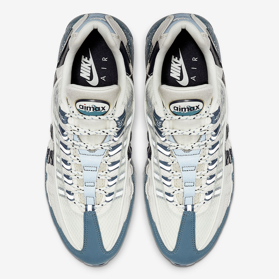 air max 95 just do it bianche