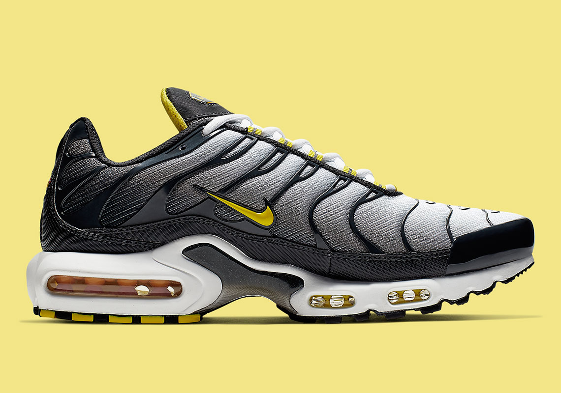 "40e53947d13c8 Nike Air Max Plus ""Bumble Bee"" $160. Style Code: CI2299-002. Advertisement"