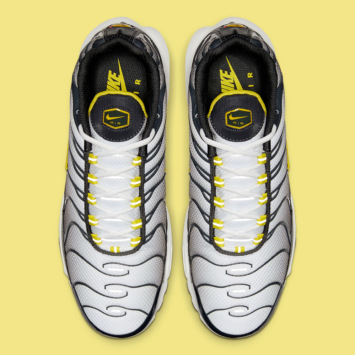 "985bfb5189184 Nike Air Max Plus ""Bumble Bee"" $160. Style Code: CI2299-002. Advertisement.  Advertisement"
