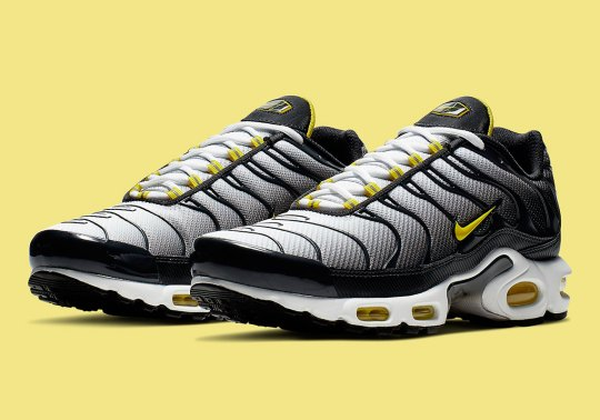 "Nike Air Max Plus ""Bumble Bee"" Adds A Gradient Upper"