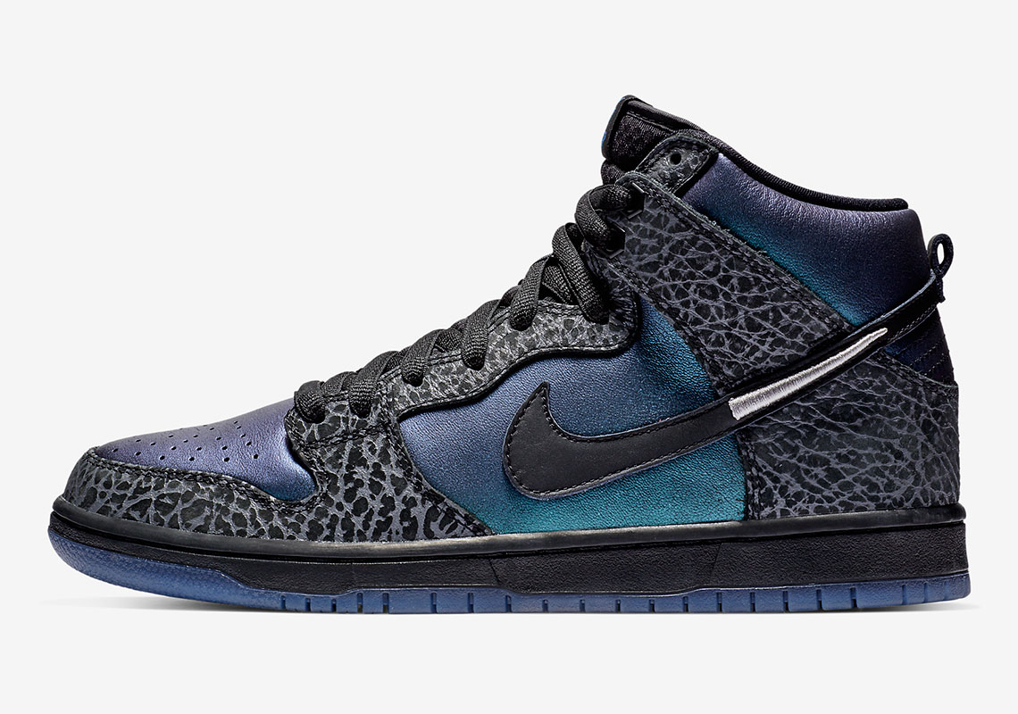 Black Sheep Nike SB Dunk High Black Hornet BQ6827-001 Store List ... acf8435da