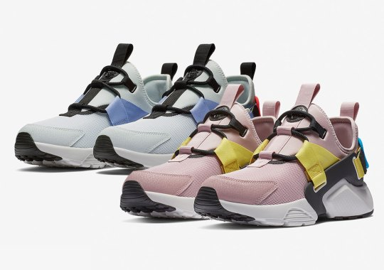 New Colorways Of The Nike Huarache City For Women Are Here