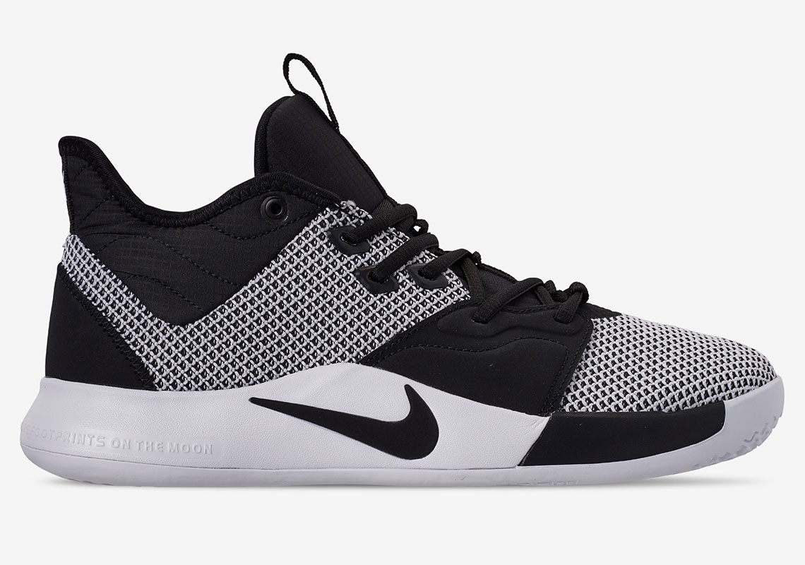 b455dc7179cb Nike Dresses Up The PG3 In A Clean Monochrome Colorway