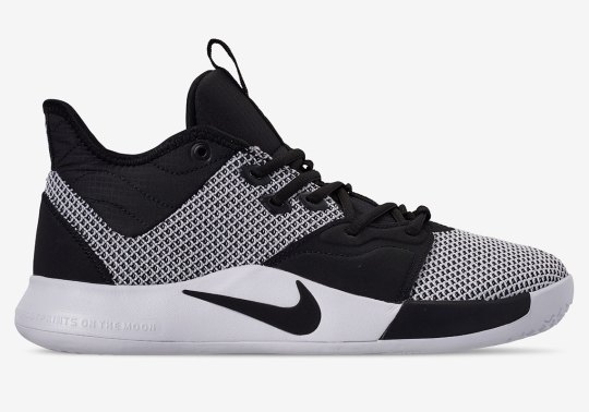 Nike Dresses Up The PG3 In A Clean Monochrome Colorway