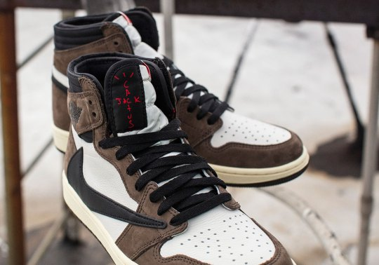 Is The Travis Scott x Air Jordan 1 The Early Pick For Shoe Of The Year?