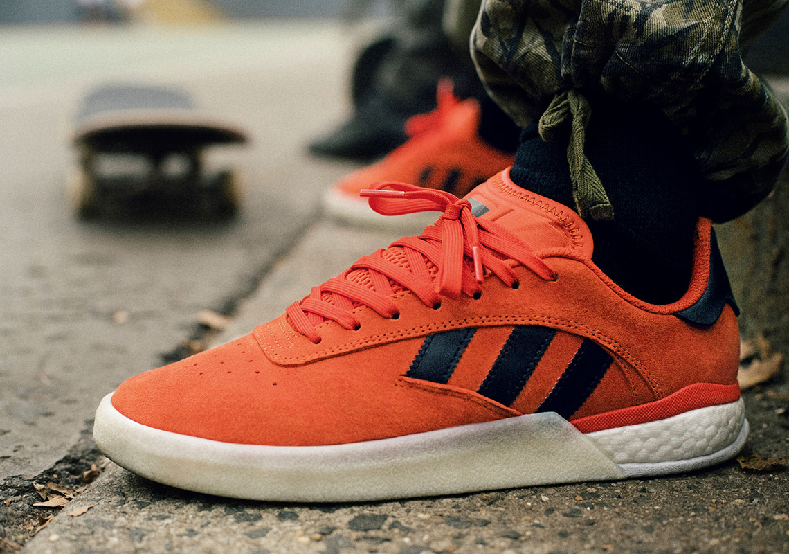 reputable site f5857 b4bf3 adidas Skateboarding Continues The 3ST Series With New 004 Model