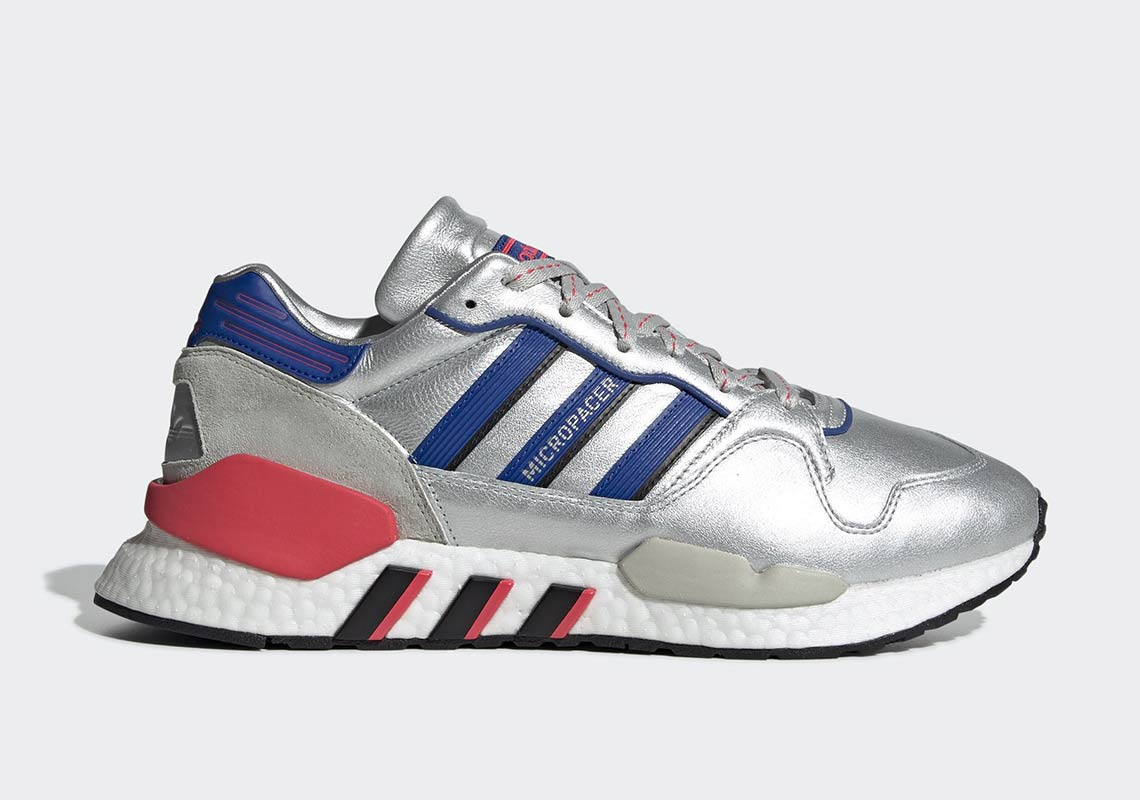 8810b349c The adidas ZX930 EQT Returns In The Classic Micropacer Silver