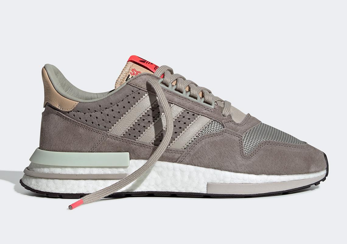 2813d0fc5c691 The adidas ZX500 RM Gets A Light Brown Upper