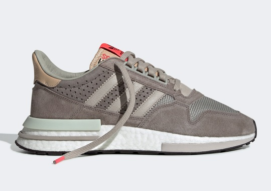The adidas ZX500 RM Gets A Light Brown Upper