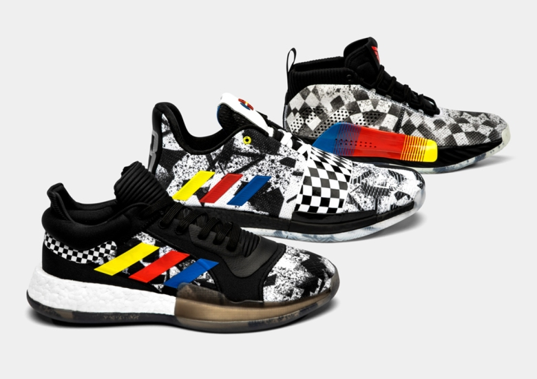 reputable site 19a7e ac4f3 adidas Draws In Charlottes Racing History For Upcoming All-Star Hoops Pack