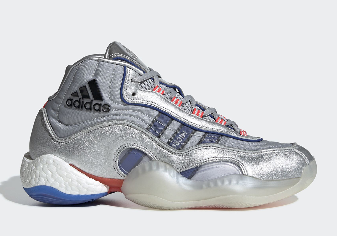 the best attitude c5251 f31f7 adidas Revives The Micropacer Silver On The Crazy 98 BYW