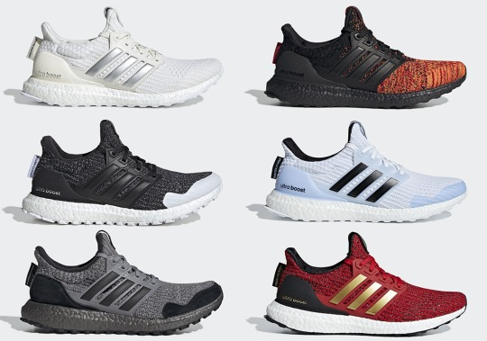 The Full Game Of Thrones x adidas Ultra Boost Collection Is Revealed