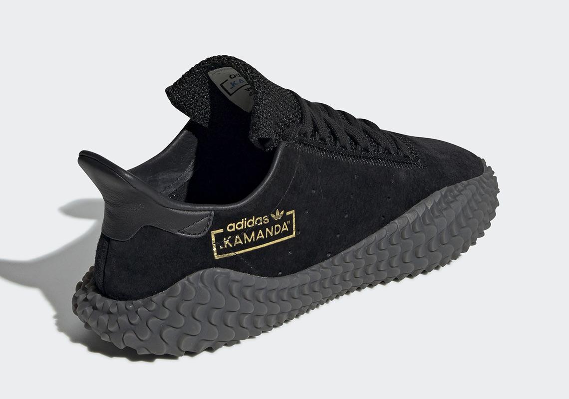 "new arrival ebd2e 0b3fb adidas Kamanda ""Triple Black"" Is Releasing Soon"