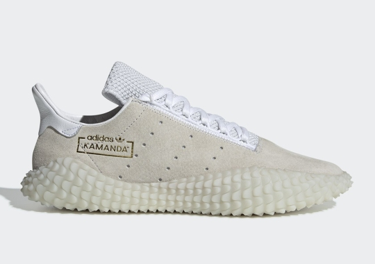 "The adidas Kamanda ""Triple White"" Is Dropping This Week"