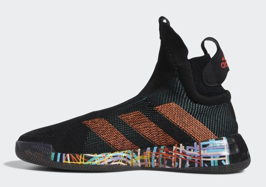The adidas N3XT L3V3L Appears With Wild Midsole Patterns