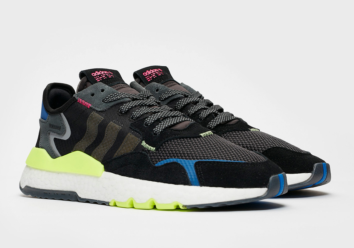 sale retailer 893e1 06bed The adidas Nite Jogger Brings In Some Bright Neon Tones