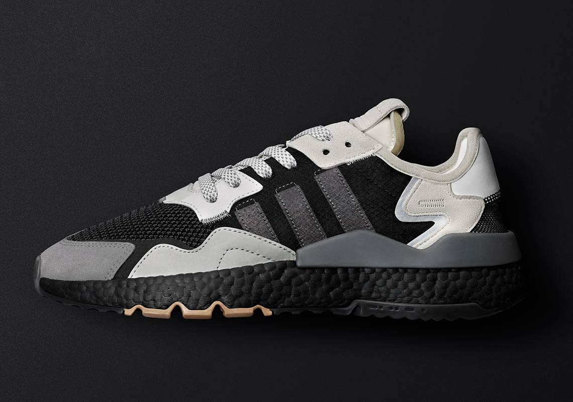 the latest 99313 97e00 adidas Nite Jogger Releases In Grey And Black