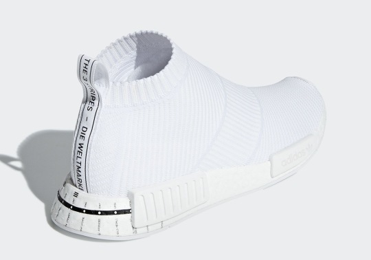 adidas Adds Another Timeline Graphic To A White NMD City Sock