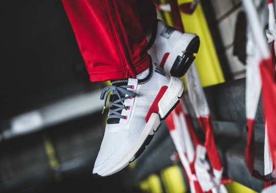 The adidas POD s3.1 Returns In A Clean Red And White Colorway