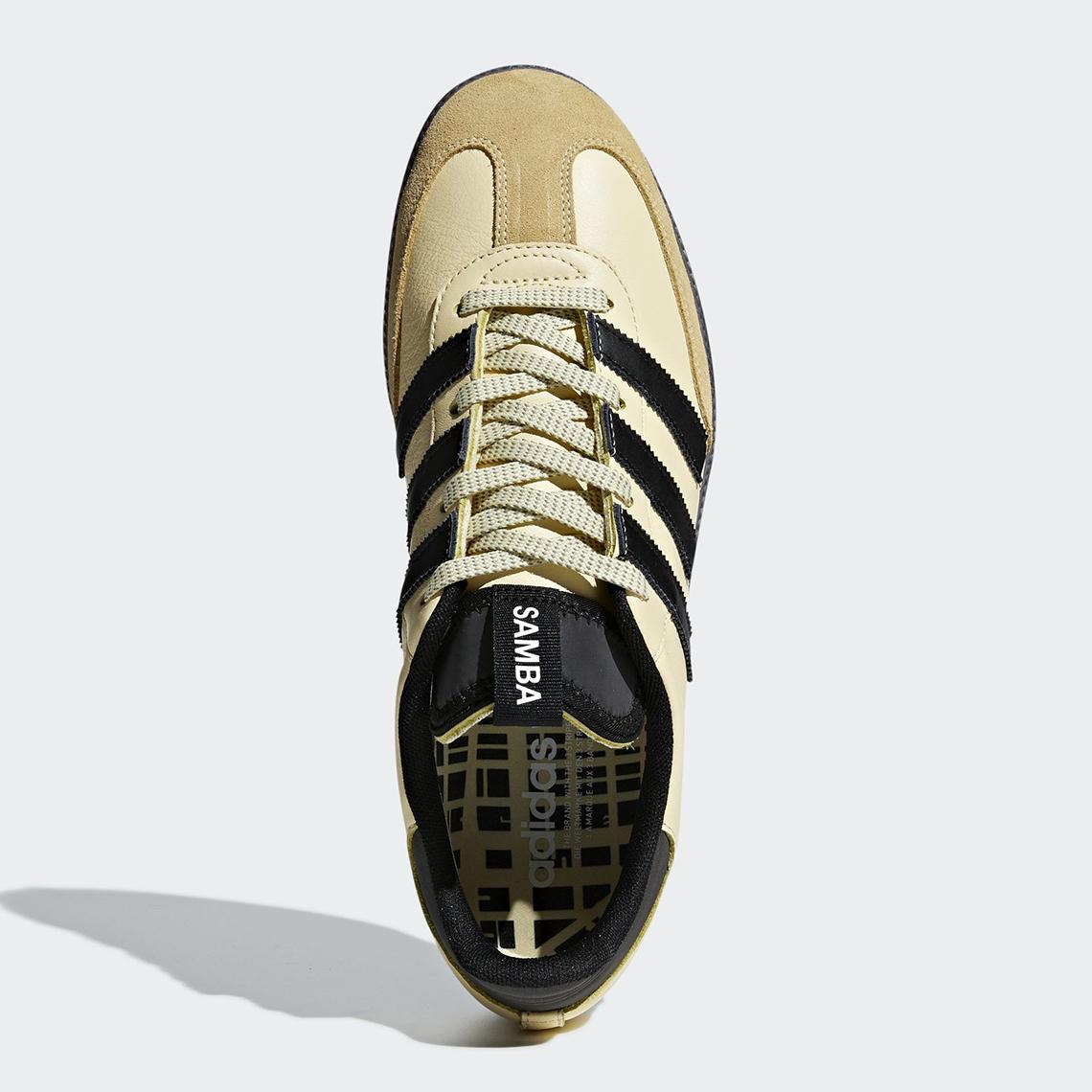 e7f7aed461 adidas Samba OG MS Black Yellow BD7523 + BD7541 Store List ...