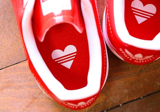 This Patent Leather adidas Stan Smith Is Perfect For Valentine's Day