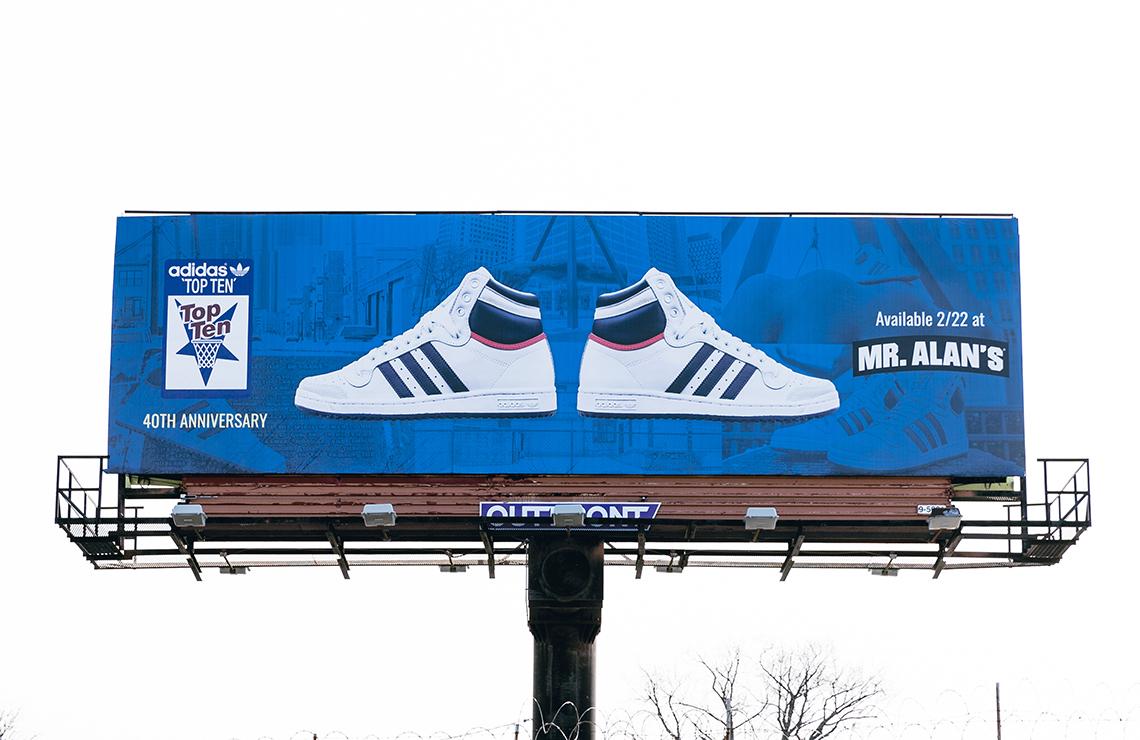 596ae18c45 adidas Top Ten 40th Anniversary Detroit Mr. Alan's | SneakerNews.com