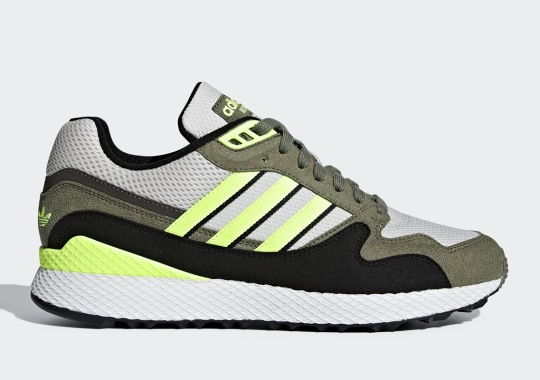 adidas' Ultra Tech Calls Upon Olive And Hi-Res Yellow