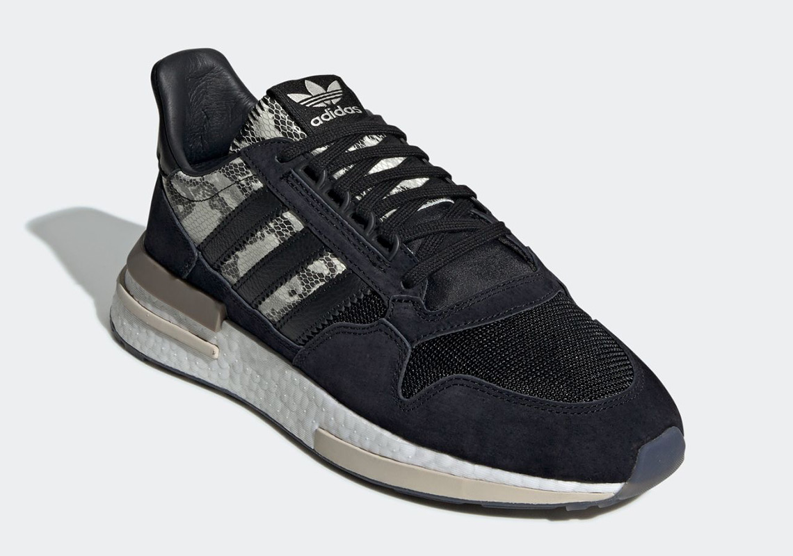 sale retailer c4c37 6efdf adidas ZX 500 RM Snakeskin BD7924 Release Info | SneakerNews.com