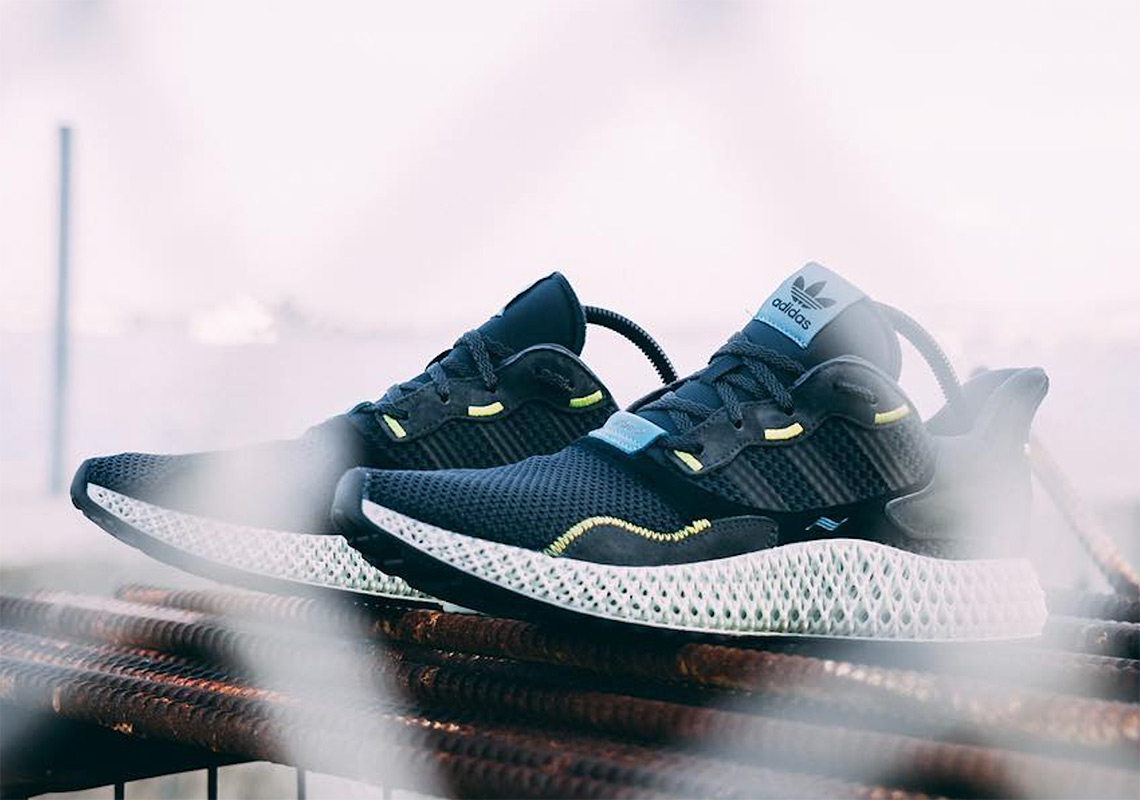 "the best attitude b0521 ccd91 adidas ZX4000 4D ""Carbon"" Release Date April 6th, ..."