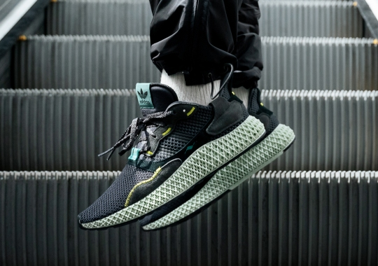 """The adidas ZX4000 4D """"Carbon"""" Is Releasing In April"""